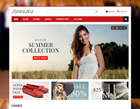 JSN Nuru, Joomla Responsive Virtuemart eCommerce