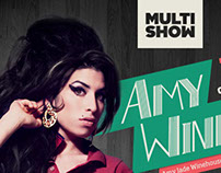 Infográfico Multishow - Amy Whinehouse