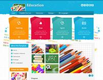 JM-School-Tools, Joomla Kids Toys Accesories Template