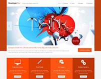 DeveloperBox, Joomla  Business Creative Template