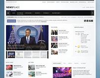 Newsplace, Joomla Retina Ready Portal Template