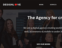 DesignLove website design