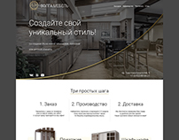 Demo project of furniture shop web site
