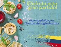 Pieza partido Colombia vs Ecuador