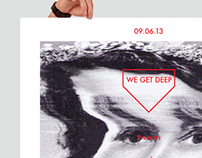 WE GET DEEP Poster Series