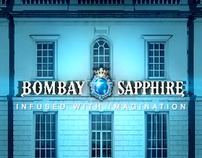 Bombay Sapphire Imagination Video Mapping