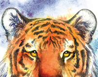 The Tyger: Illustrated poem