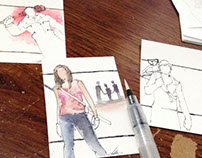 Walking Dead Fan Art Artist Trading Cards 2016