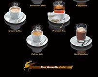 Due Gazzelle Cafe Poster