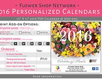 FSN 2016 Calendars: Order Form Design