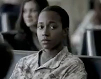 AMERICAN AIRLINES MILITARY TV CAMPAIGN