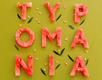 TYPOMANIA. My love.