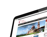 Islamic Community- Website and Branding