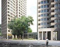Maccreanor Lavington + Sergison Bates - Hackney Towers
