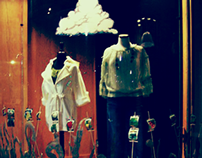 Jeune Boutique Window Displays