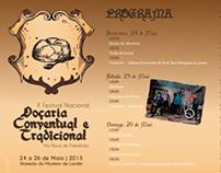 X FESTIVAL DE DOÇARIA CONVENTUAL E TRADICIONAL DE VNF