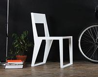 PUNAR stool white