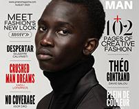 Majok Manyuat Cover Story for GMARO Magazine NYC