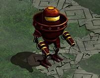 Test robot crash