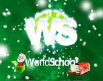 World School, Xmas card