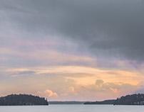 Winter on Rice Lake