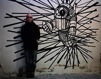 Mural para Produkt Buró (Barcelona)