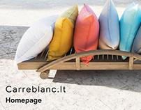 CarreBlanc.lt - responsive web design