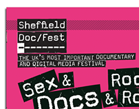 Booklet Design for Sheffield Doc/Fest