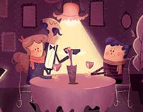 Cenários e Personagens para Animação - Sicoob