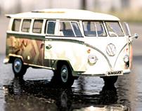 VW Bus Wrap Quiksilver