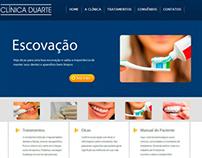 Site Clínica Duarte