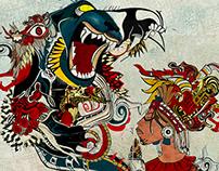 Garra Jaguar -cosmovisión Maya -