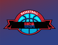 Basketball Logo Mockup