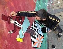 Jameca street mural Bristol