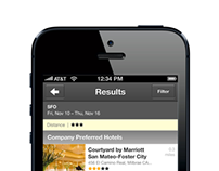 Deem Corporate Hotel Booking iOS app