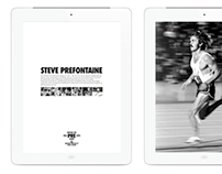 [Design] Prefontaine Story for NIKE (iPad)