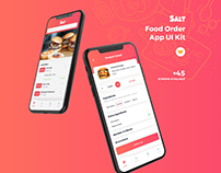 Salt - Food Order App UI Kit