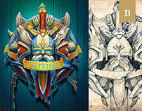 RPG interface & illustration