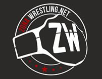Zona Wrestling Logo Design