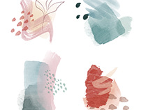 Hand-Painted Photoshop Brushes