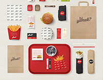 Bi Yemek? - Fast Food Restaurant Branding Design