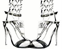 Footwear Advertising Illustration