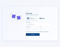 Day 879 • Credit Card details UI Design