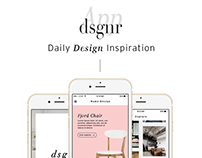 Designr App — Daily Design Inspiration