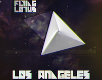 "CD Artwork for ""Los Angeles"" - Flying Lotus"