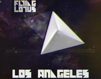 "CD Artwork for ""Los Angeles"" - Flying Lotus"