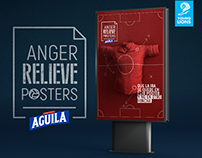 ANGER RELIEVE POSTERS BY AGUILA