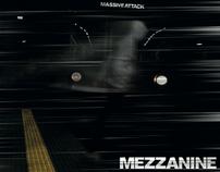 """CD Artwork for """"Mezzanine"""" - Massive Attack"""