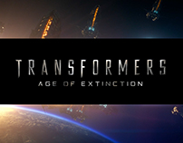 Transformers 4 Main Title Logo Design