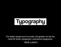 Catálogo de tipografía experimental